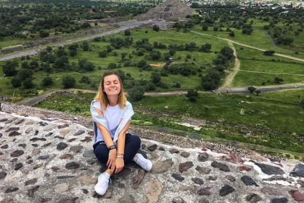 Ростовчанка Анастасия Крицкая мигрировала в Мексику в конце января