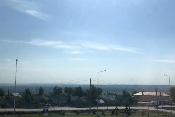 Пейзажи села впечатлили Марию Захарову