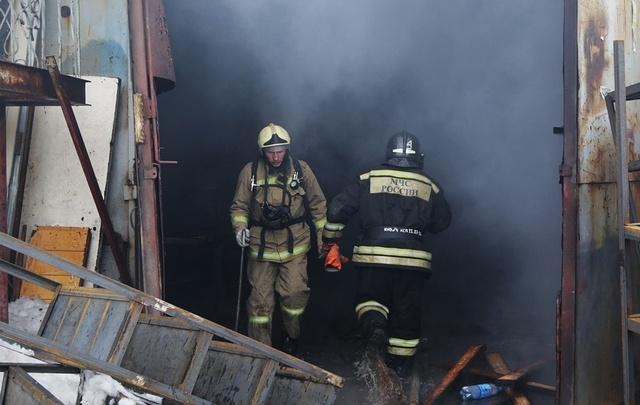 В Башкирии три человека погибли в пожаре