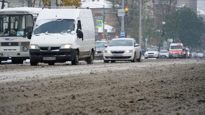 Из-за метели на Дону ограничили движение для пассажирского транспорта