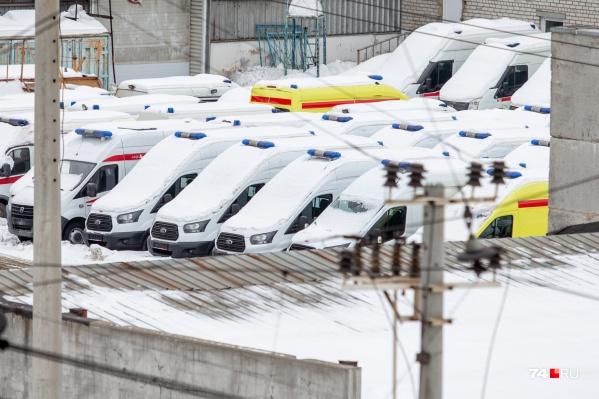 Новые автомобили прибыли в Челябинск ещё в конце ноября прошлого года