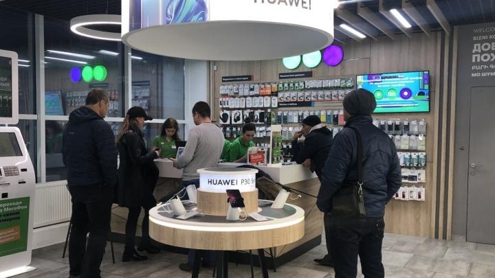 МегаФон убрал витрины: оператор открыл в Самаре салон нового формата