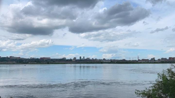 Пасмурная погода с дождями приходит в Красноярск после 30-градусного пекла