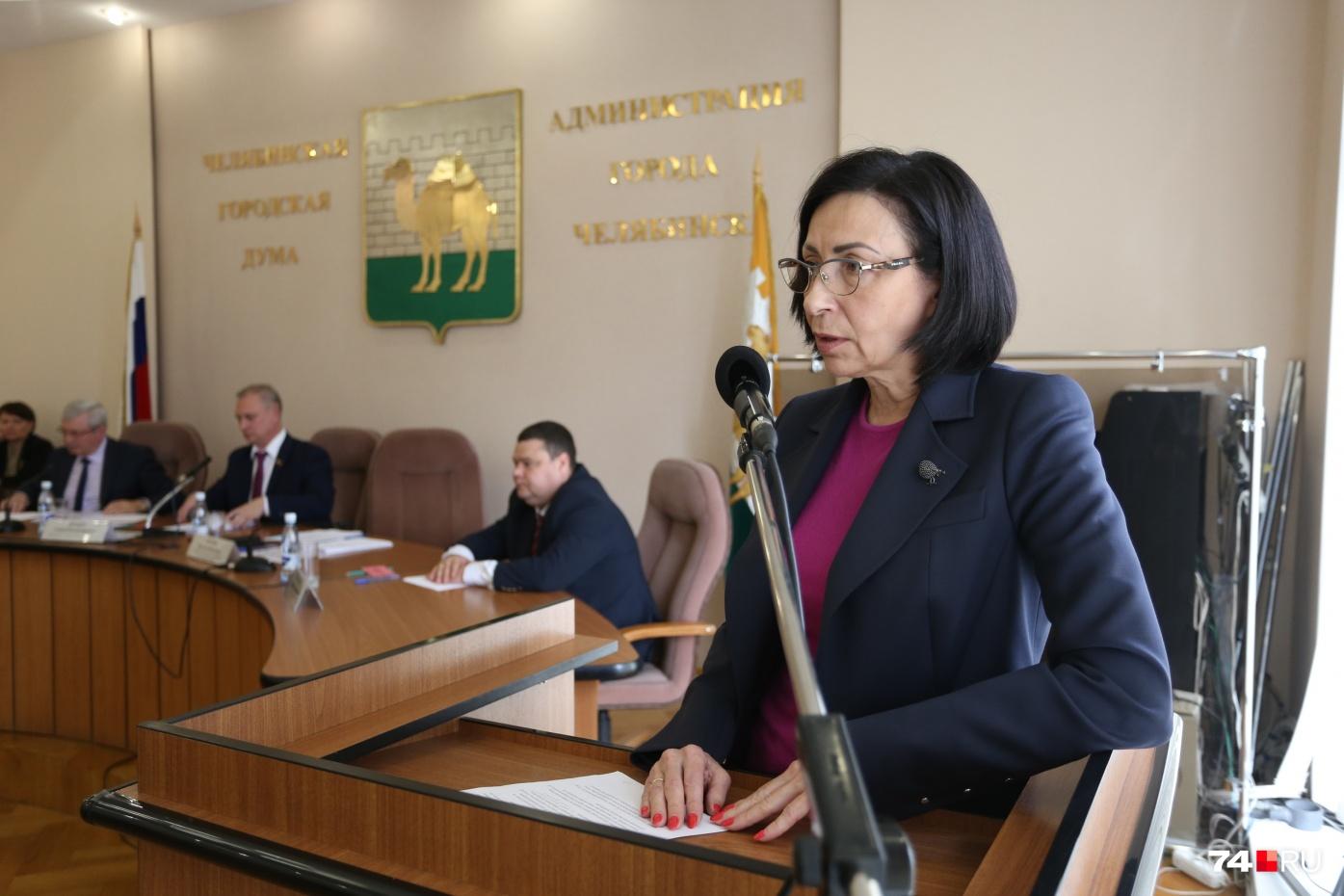 Наталья Котова руководит Челябинском чуть больше трёх месяцев