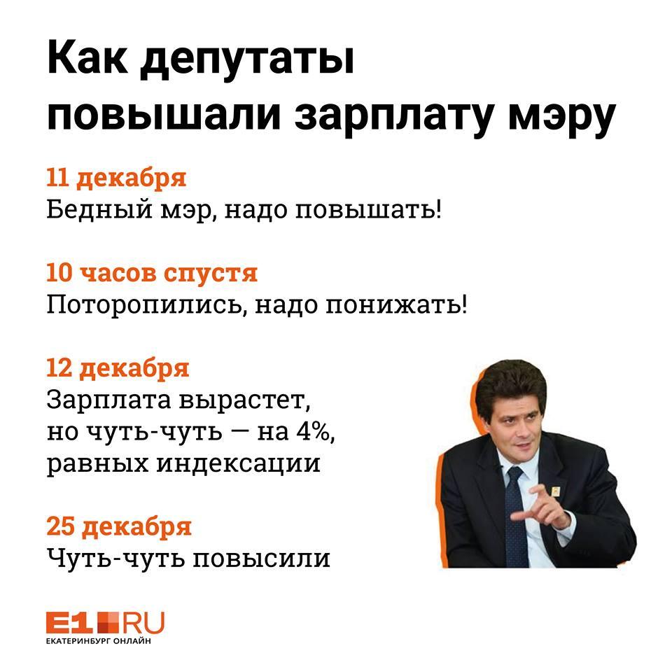 Зарплату Александру Высокинскому поднимут, но чуть-чуть