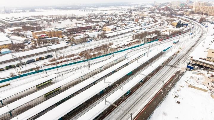 В Самаре на железной дороге тепловоз сбил насмерть стрелка ФГУП «Охрана»
