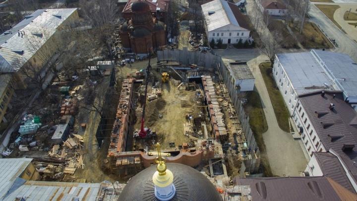 Прокуратура дала добро: Управление по охране памятников проверит законность сноса Успенской церкви