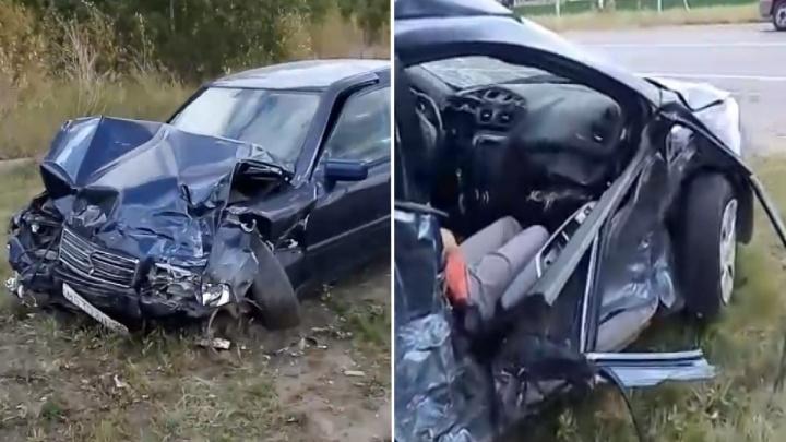 Из-за столкновения двух машин под Ачаирским монастырём погибла женщина