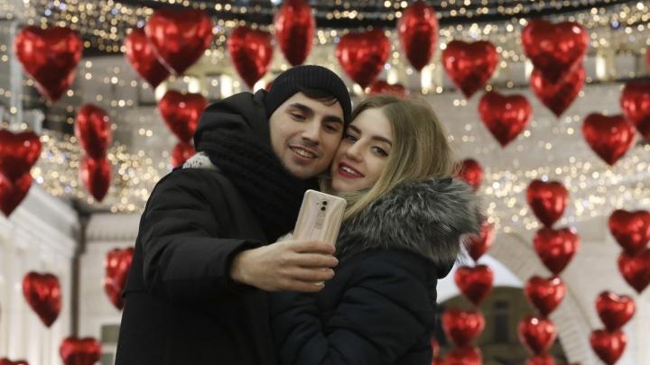 Расскажи всему городу о своей любви: 14 февраля екатеринбуржцы смогут попасть в прямой эфир E1.RU