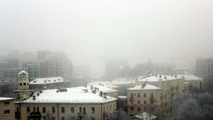 В ГИБДД рассказали, что делать омским водителям и пешеходам во время тумана