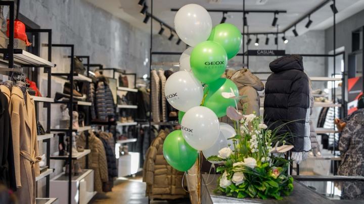 В Омске открылся обновленный магазин Geox