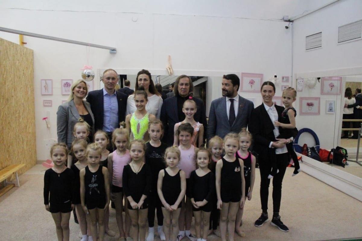Вице-президент Всероссийской федерации художественной гимнастики побывал в гостях у СК «Перспектива»