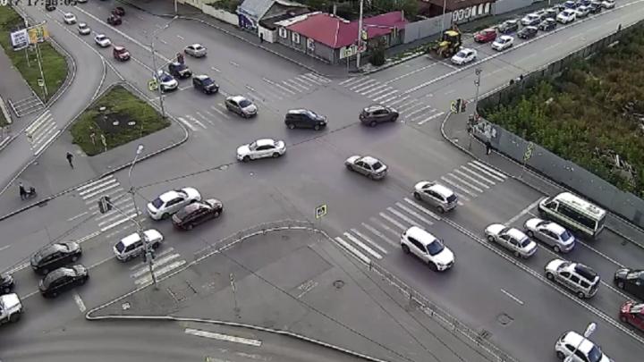 В Уфе буйный водитель одним ударом убил пешехода