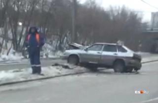 Стаж водителя Mercedes, который влетел в ВАЗ, — 15 лет