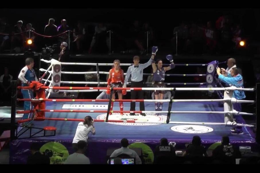 Вера Негодина уступила чемпионке мира по тайскому боксу 2016 года