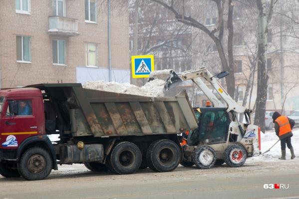 Уборкой будут заниматься коммунальные службы города