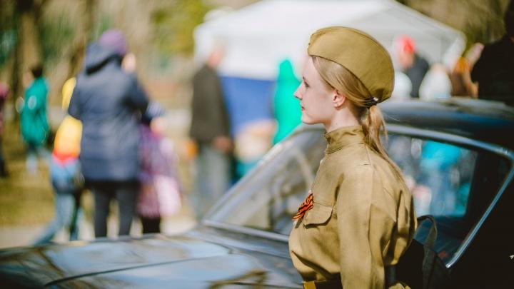 15 ретроавтомобилей, возложение цветов, концерт. Пять фактов о тюменском автопробеге ко Дню Победы