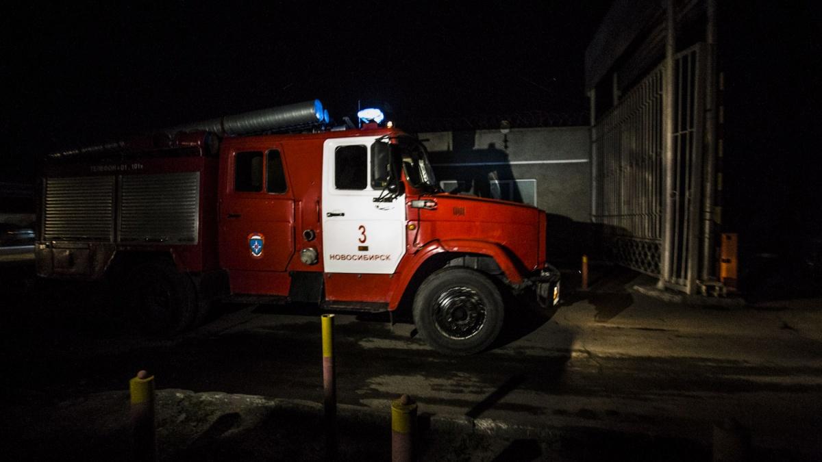 Во время пожара в депо никто не пострадал