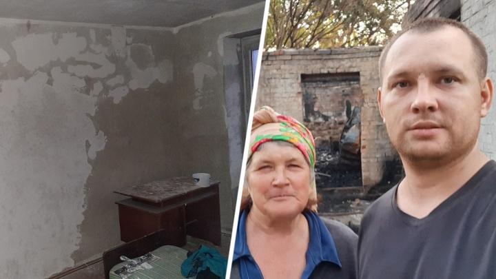 «Голый пол и тараканы в выключателях»: как живет житель Ростовской области, спасший из пожара семью