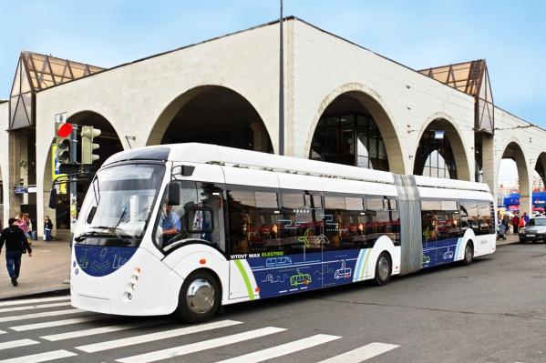 Так выглядит одна из моделей минского электробуса