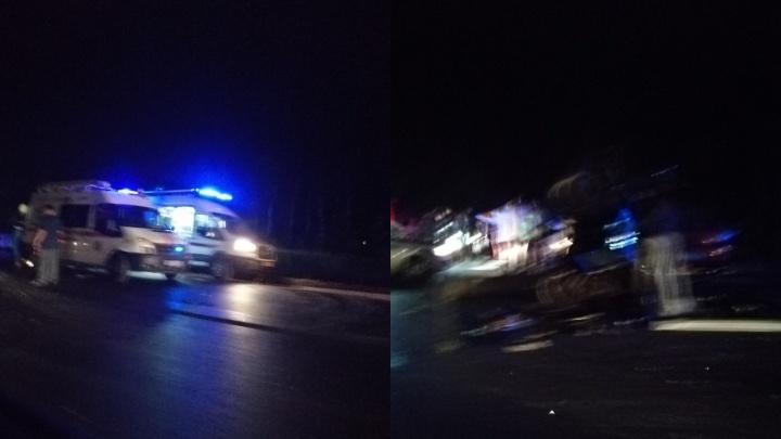 Полицейские рассказали, из-за кого произошла смертельная авария у Красного Яра