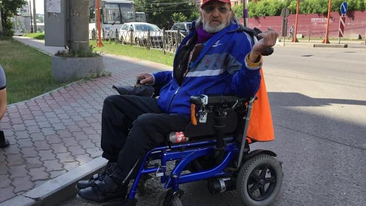 Инвалид спустя год проверил новые бордюры: что изменилось