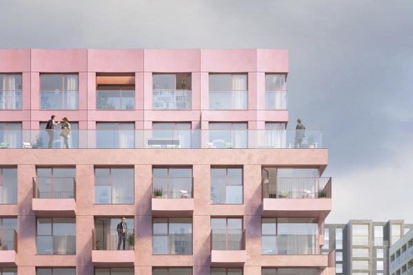В квартирах на «Никитина» впервые реализованы такие функции, как мастер-спальня и ванная комната с панорамным окном