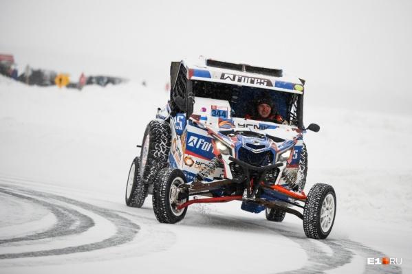 Ледовые гонки Сергей Карякин устраивает уже не в первый раз