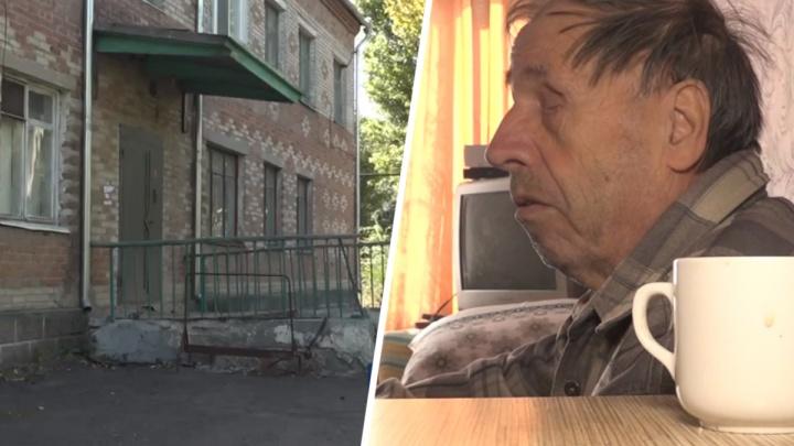 В Красном Сулине слепые старики остались без тепла