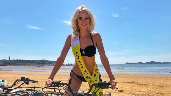 Эффектная блондинка из Красноярска стала претенденткой на титул «Мировой королевы красоты»