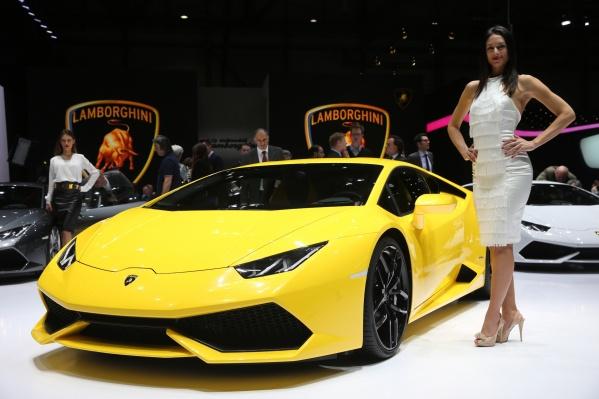 За прошлый год в России купили 72 автомобиля Lamborghini