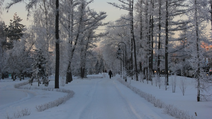 В Омске начнёт холодать с начала недели