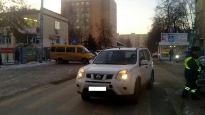 В Уфе внедорожник сбил женщину на пешеходном переходе