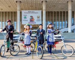 Первоклашек республики посвятили в велосипедисты