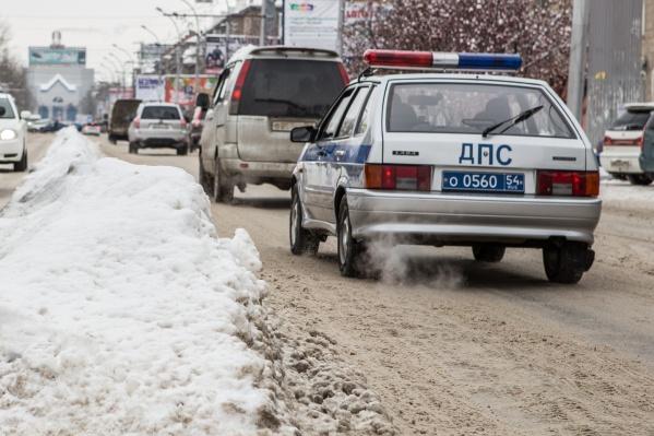 Акция «Нетрезвый водитель» проводилась с 1 по 8 января