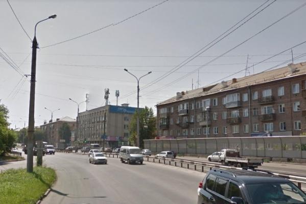 Авария произошла на улице Мичурина