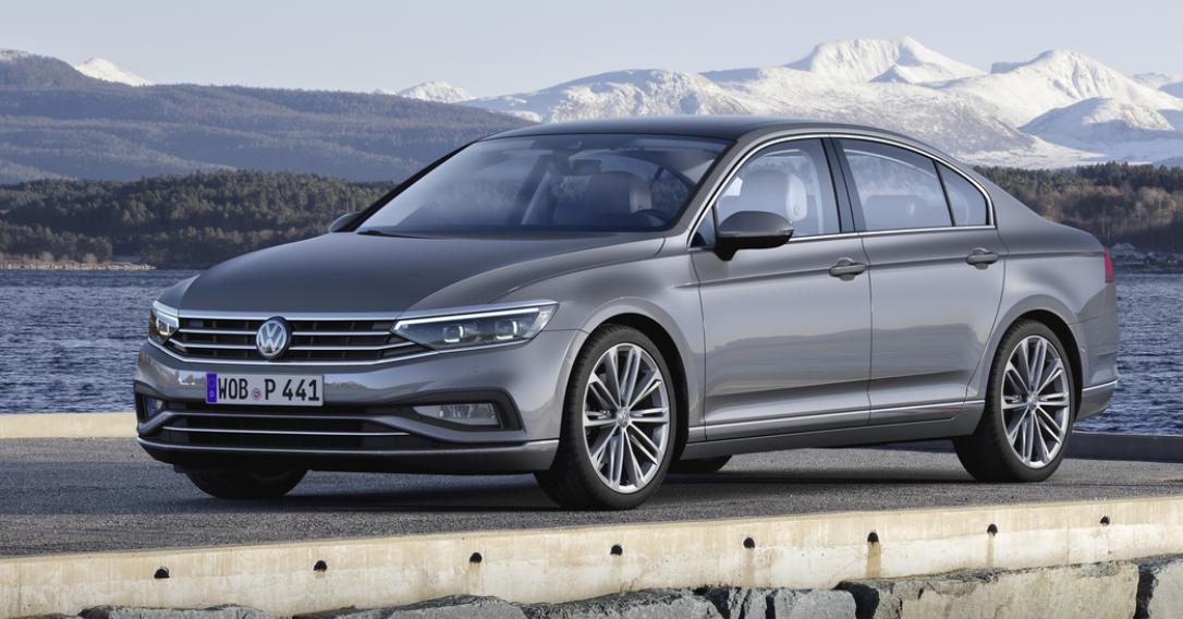 Volkswagen Passat конкурирует с другими авто в сегменте D