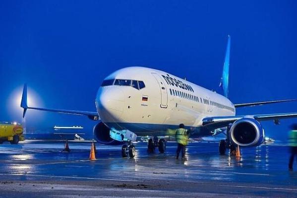 Весной авиакомпания «Победа» возобновит полёты из Тюмени в двух направлениях