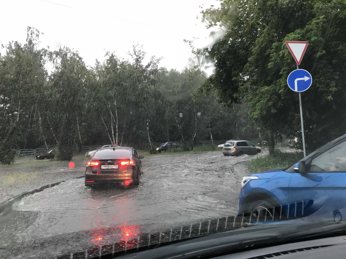 В прошлый сильный дождь ливнёвки не были готовы к непогоде