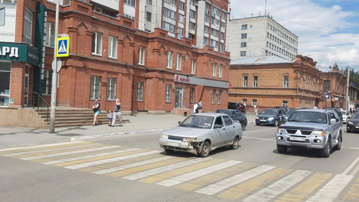 В Курганской области появятся еще 134 пешеходных перехода