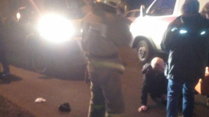 В Рыбинске водитель «Пежо» сбил мужчину