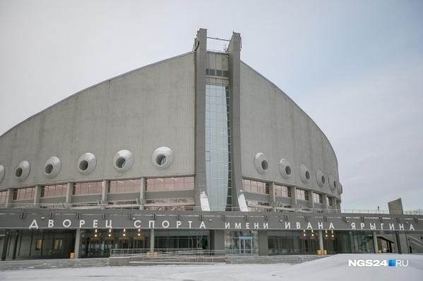 Порыв произошел возле Дворца спорта им. Ивана Ярыгина