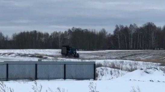 «Запах — из дома не выйти»: берег озера возле коттеджного посёлка под Челябинском завалили помётом