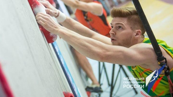 Екатеринбургский скалолаз взял серебро на турнире в Токио
