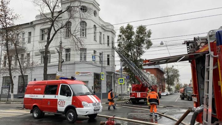 Мистический пожар: в доме на Некрасовской тлели межэтажные перекрытия