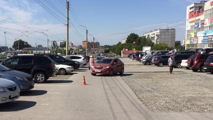 «Тойота» сбила 5-летнего мальчика на парковке около ТЦ