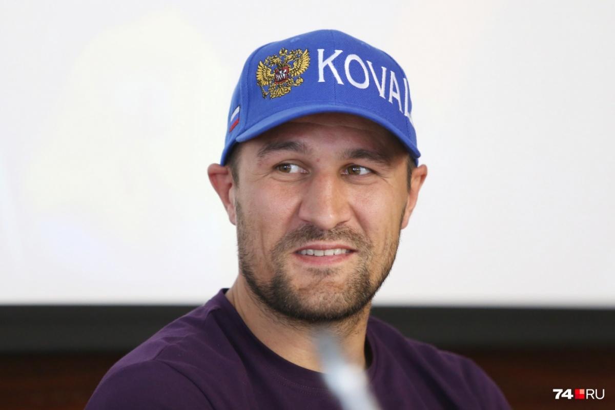 Ковалёв хотел провести бой в Челябинске