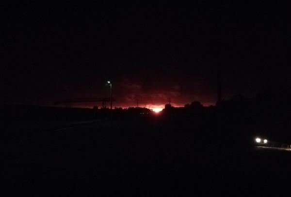 На станции Шиес в Ленском районе произошло возгорание на газопроводе: никто не пострадал