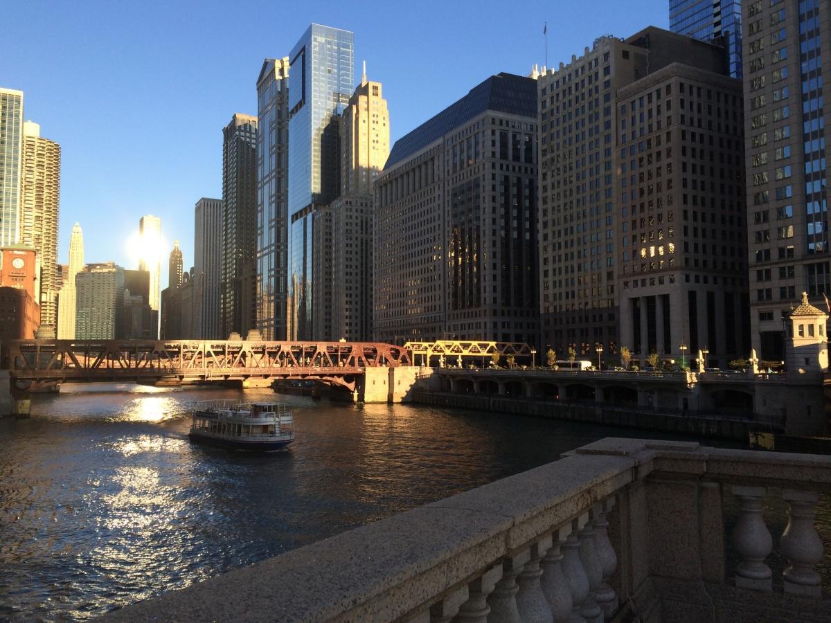 В Чикаго она влюбилась сразу