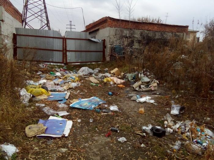 Свалка появилась меньше месяца назад рядом с улицей Шишкина, 48 к1